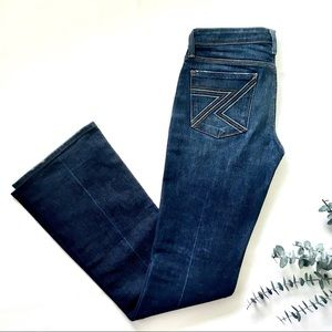 7 For All Mankind Straight/boot Jeans